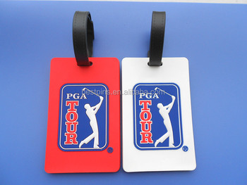 Pga Tour Golf Luggage Tag Souvenir Bag
