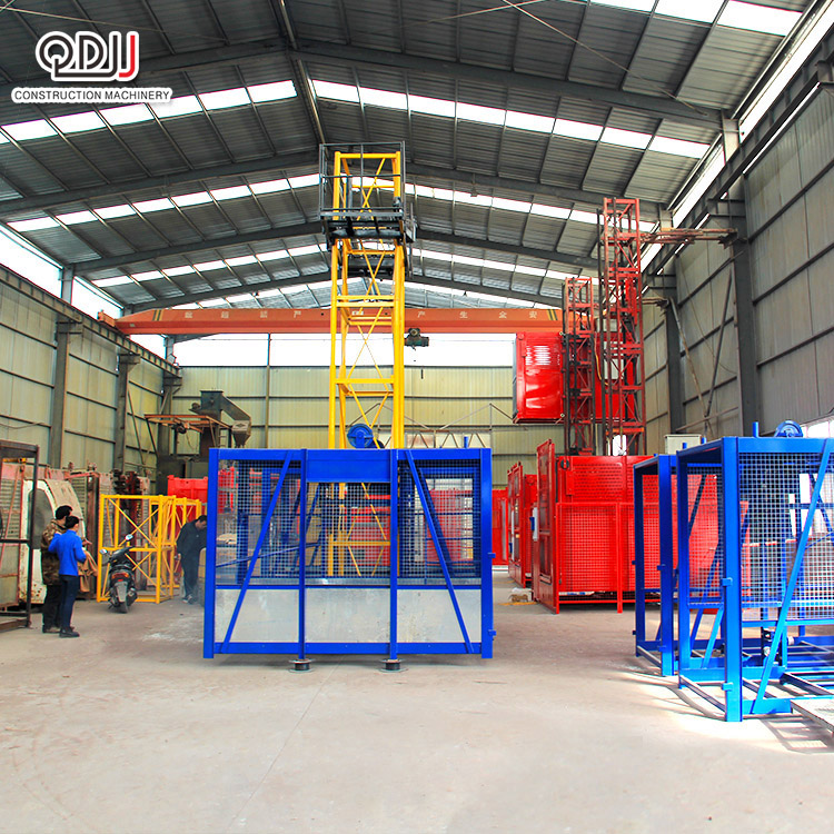 SS100 100 Qidong Construction นักกีฬายก 48 Jib Length Tower Crane