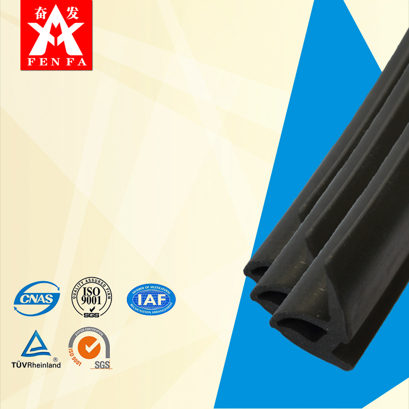 Auto Weatherstrip EPDM Rubber Seal Profile