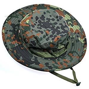 5cd913edb0aa6 Cosmos® Tactical Head Wear Boonie Jungle Hat Cap For Wargame Sports  Hunting Fishing