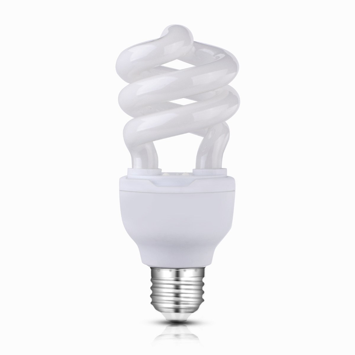 CTKcom UVB 10.0 UVB Reptile Light Bulb 13W Basking Calcium Lamp Compact Fluorescent Lamp,110V UV Bulb Light Calcium Lamp For Turtle Aquarium Aquatic Reptile Lizard Pets UVB Light,13 Watts