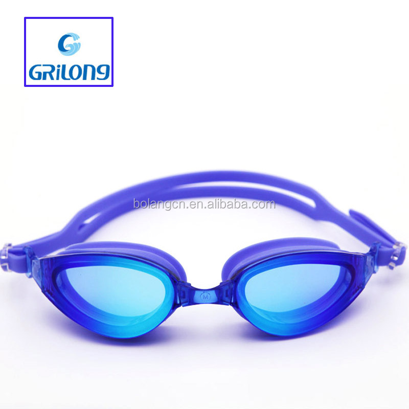 Rimless eyeglass frame best silicone eyecup protect for adult swim goggle