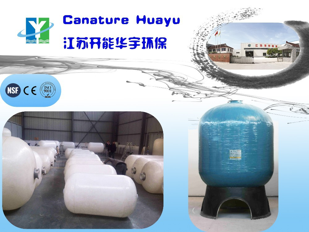 Polyethylene liner water tank used as water treatment equipment