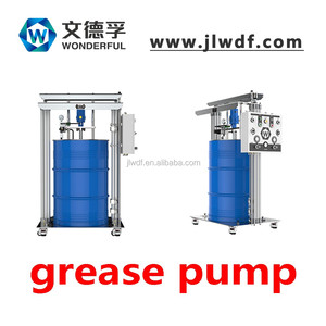 pneumatic grease pump/Air operated Grease Lubrication Systems with hose reels and pump kits wheels