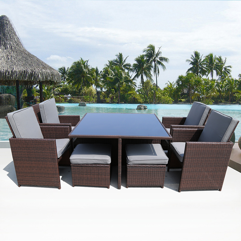achetez en gros rotin table en ligne des grossistes rotin table chinois. Black Bedroom Furniture Sets. Home Design Ideas