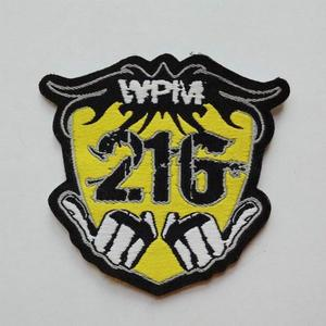 High Quality Customized Iron On Embroidery Patch
