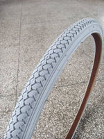 gray color bicycle tyre 24x1 3/8