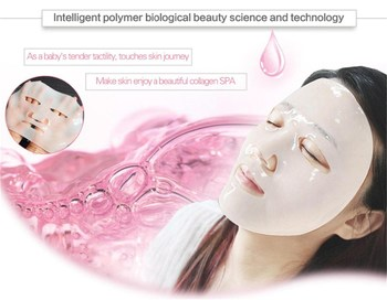 OEM private label , crystal collagen face mask /collagen facial mask , bulk buy from China
