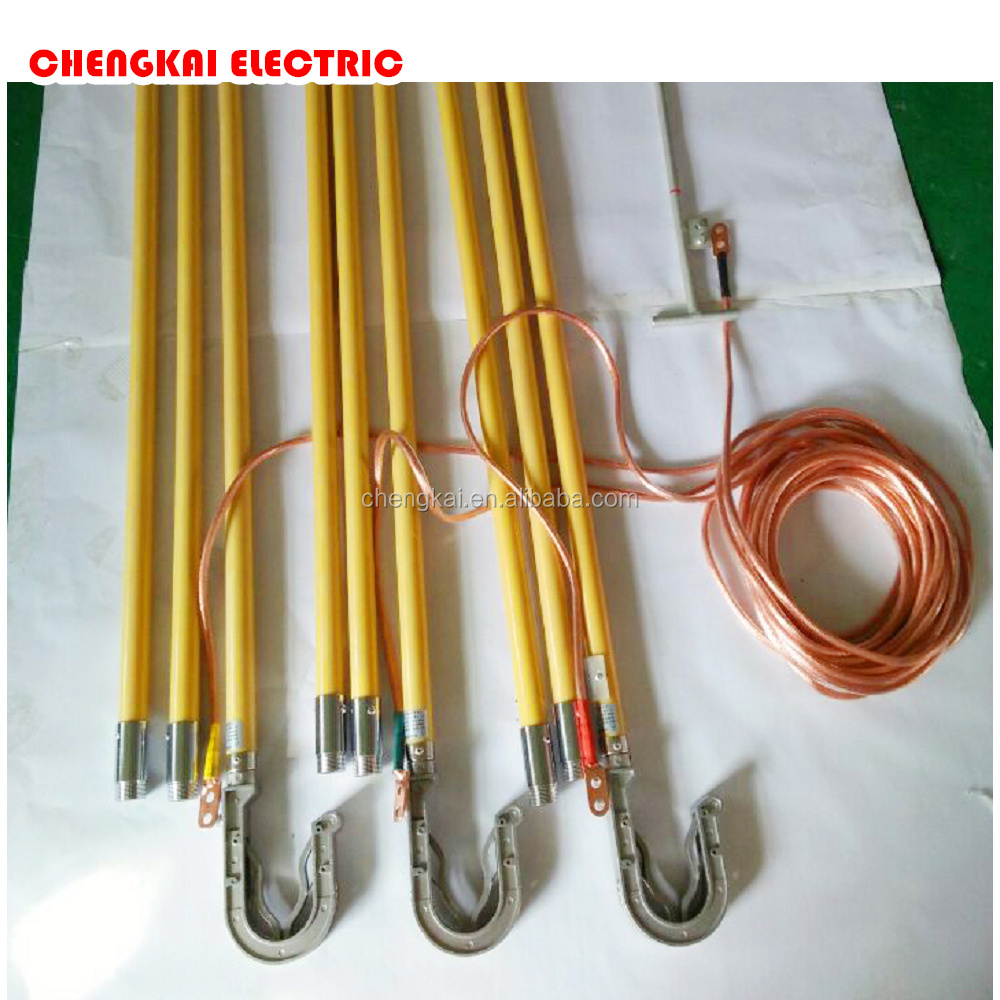Electric safety tools temporary earthing equipment