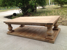 Swivel coffee table