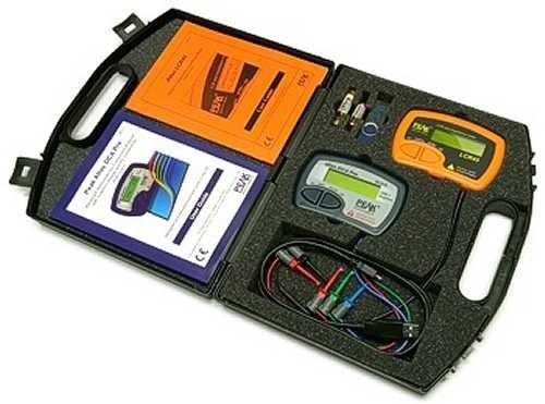 DCA75 and LCR45 Peak Atlas Component Analyzer Kit Atpk3 w/Case, Battery