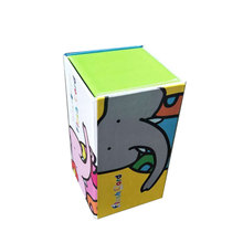Full color printing children favor customized toy gift box