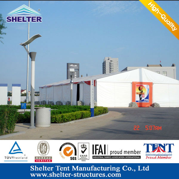 10x20 Big PVC Event garden shelter tents for temporary warehouse workshop 08 Beijing Olympic Games Official supplier