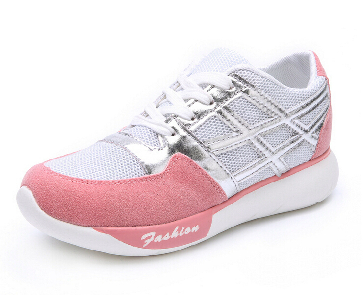 Women Breathable  Sneakers 2015 Autumn Winter Female Casual Shoes Swing Female Sport Shoes Platform Shoes Wedges Single Shoes