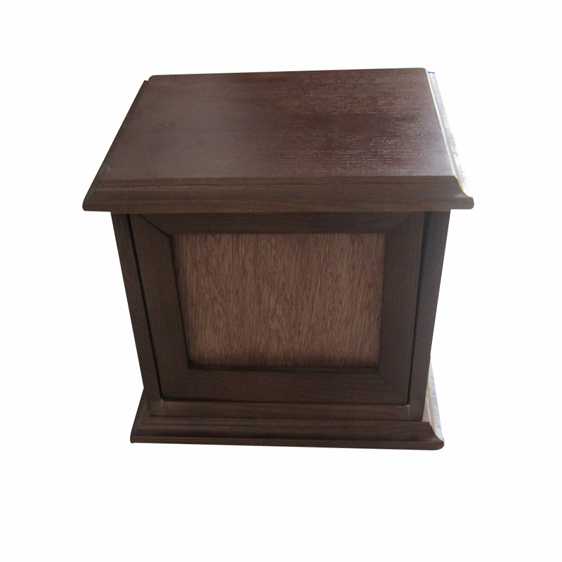 En bois de luxe pour animaux de compagnie cercueil pour tous les animaux cercueil