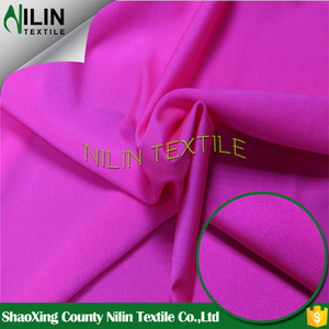 Anti uv soild 80 nylon 20 spandex swimwear fabric