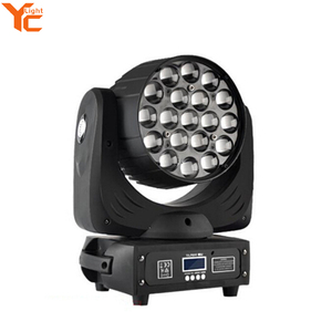 Tested Stage Light Manufacturer Cheap Price 4-In-1 Guangzhou 19pcs Led Moving Head Zoom Light