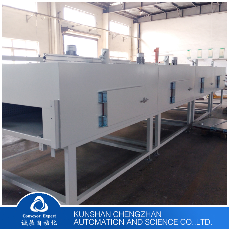High Efficient Conveyor Belt Type Electric Tunnel Dryer