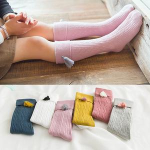 69a6174dc Kids Girl Knee High Socks Wholesale