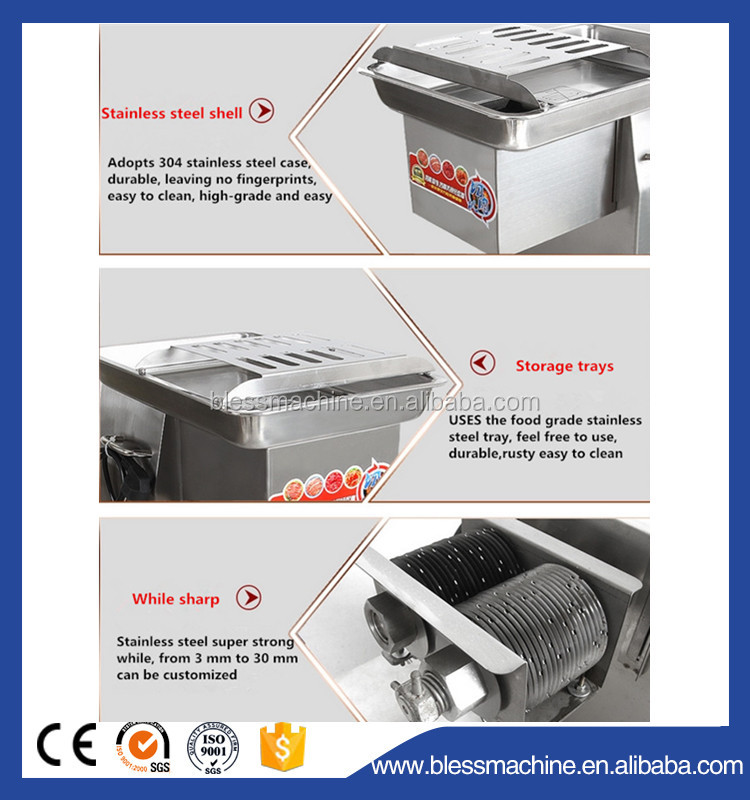 2018 China Professional manufacturer cost effective Diced meat machine with Alibaba trade assurance