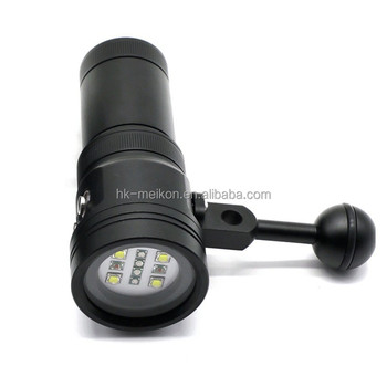 Meikon 2400LM Diving Torch for Underwater Video