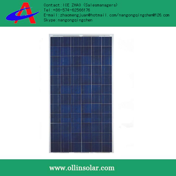 inexpensive OLLIN 100w poly solar panels made in china