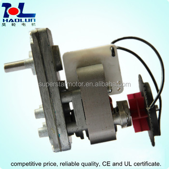 Bbq grill oven dc ac gear motor buy low rpm gear motor for Low rpm electric motor for rotisserie