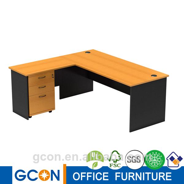 La melamina muebles usados de la esquina escritorio de la - Mesa escritorio esquina ...