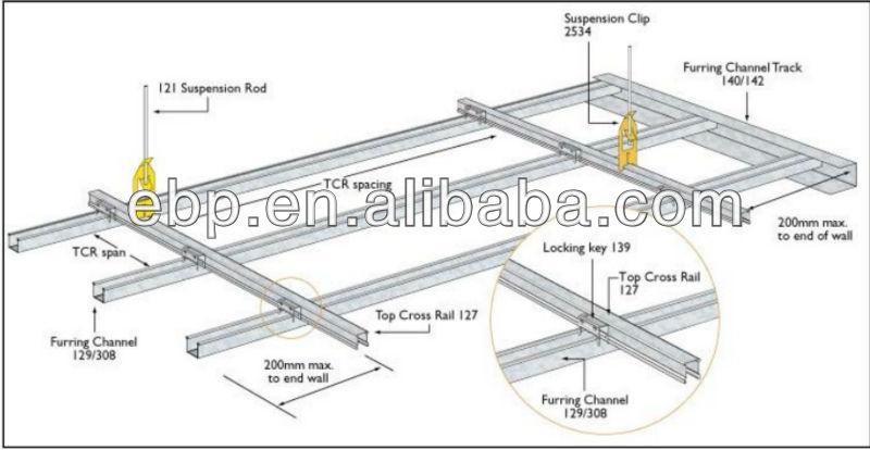 Light Steel Frame Suspended Ceiling