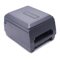 Beeprt 108mm thermal transfer barcode sticker label plastic paper printer with ribbon
