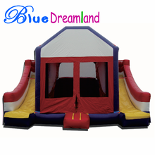 High efficiency used commercial bounce houses