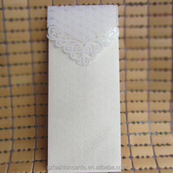 Glitter Clear Pvc Wedding Invitation Pocket Envelope Cards Of