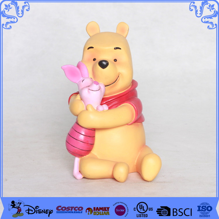 Factory direct sell handicraft teddy bear toy bobble heads