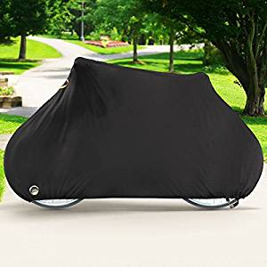 North East Harbor Deluxe Single Bike Cover Waterproof Outdoor Travel Storage Cover for 1x Bicycle
