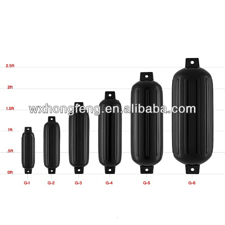 High Quality Cylindrical Inflatable Pvc Boat Fender View