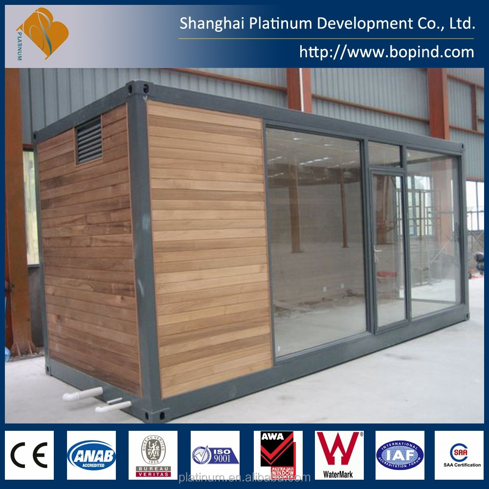 China Made Cheap Standard 20 ft Shipping Container House for Sales