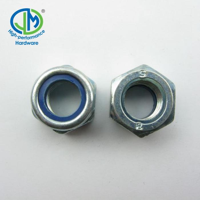 Zwhyo Good Quanlity Nueces antideslizantes hexagonales hexagonales de la tuerca de nylon del acero inoxidable DIN985 304