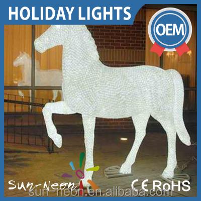 Lighting Led Acrylic Ice Show Horse