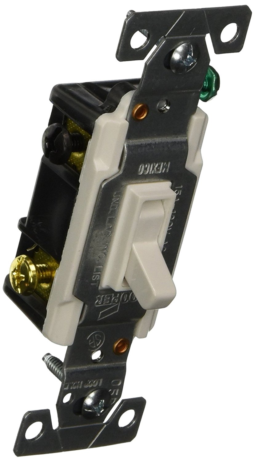 Cheap Eaton Safety Switch Find Deals On Line At 15 Amp Single Pole 2 Toggle Switches With Back And Side Wiring White Get Quotations 1303 7ltwbox 120 Volt Standard Grade 3 Way Lighted