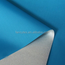 China factory silver coated polyester taffeta 190T 210t TAFFETA double side silver coated waterproof for umbrella tent blackout