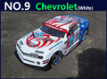 Large 1 10 RC Car High Speed Racing Car 2 4G Chevrolet 4 Wheel Drive Remote