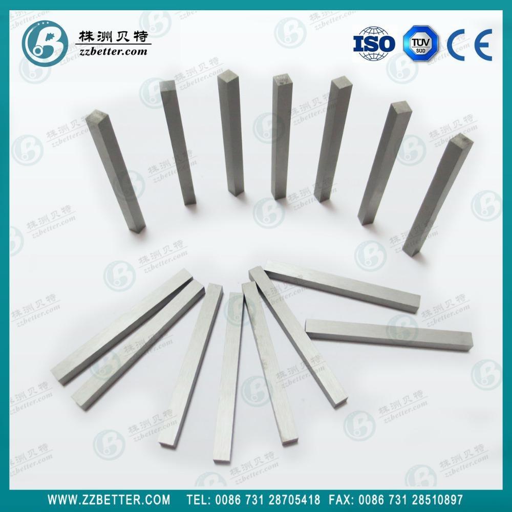 Tungsten Carbide Bar Stock : Barras de carburo tungsteno cementado tiras