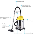 Housekeeping equipment 30L 2017 popular wet and dry vacuum cleaner hotel mall cleaning