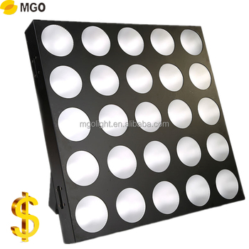Hot sale luxury 5*5 Rgb 3in1led matrix light  Matrix  light made in china factory