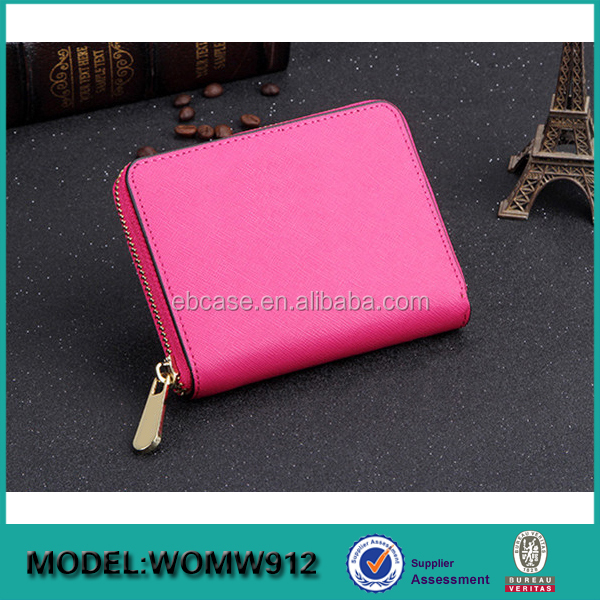 2017 Latest cheap fancy trendy PU leather travel women magic leather wallet