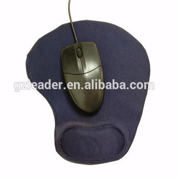 Wrist Rest Rubber Foam Mouse Pad