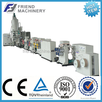 Plastic PP PET strapping band production line/plastic strapping making machine