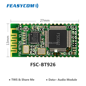 Economical bluetooth audio transmitter module for high quality stereo headsets