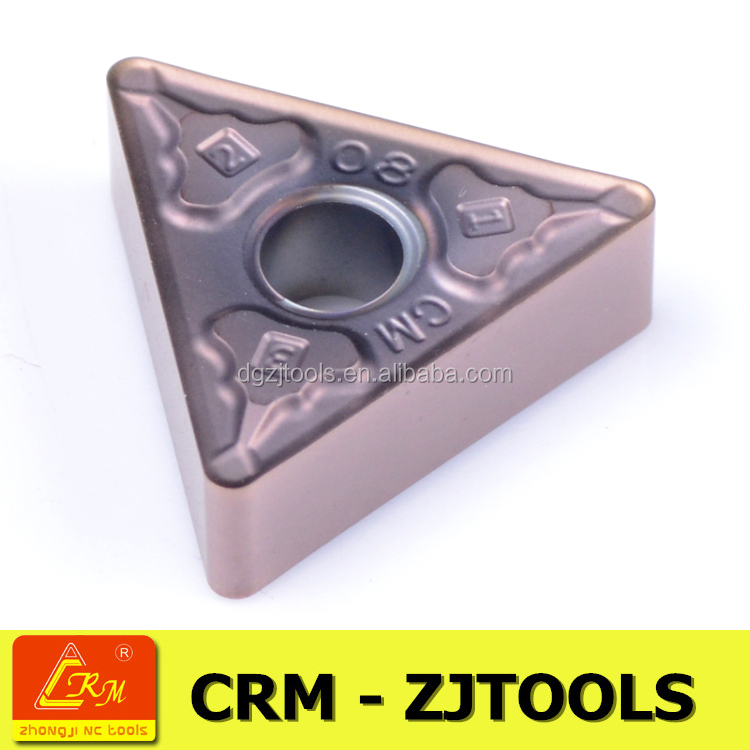 mitsubishi VP15TF patent geometry tungsten carbide turning insert TNMG1604 for turning tool