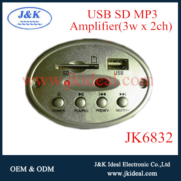 JK6832 Usd sd mp3 screen